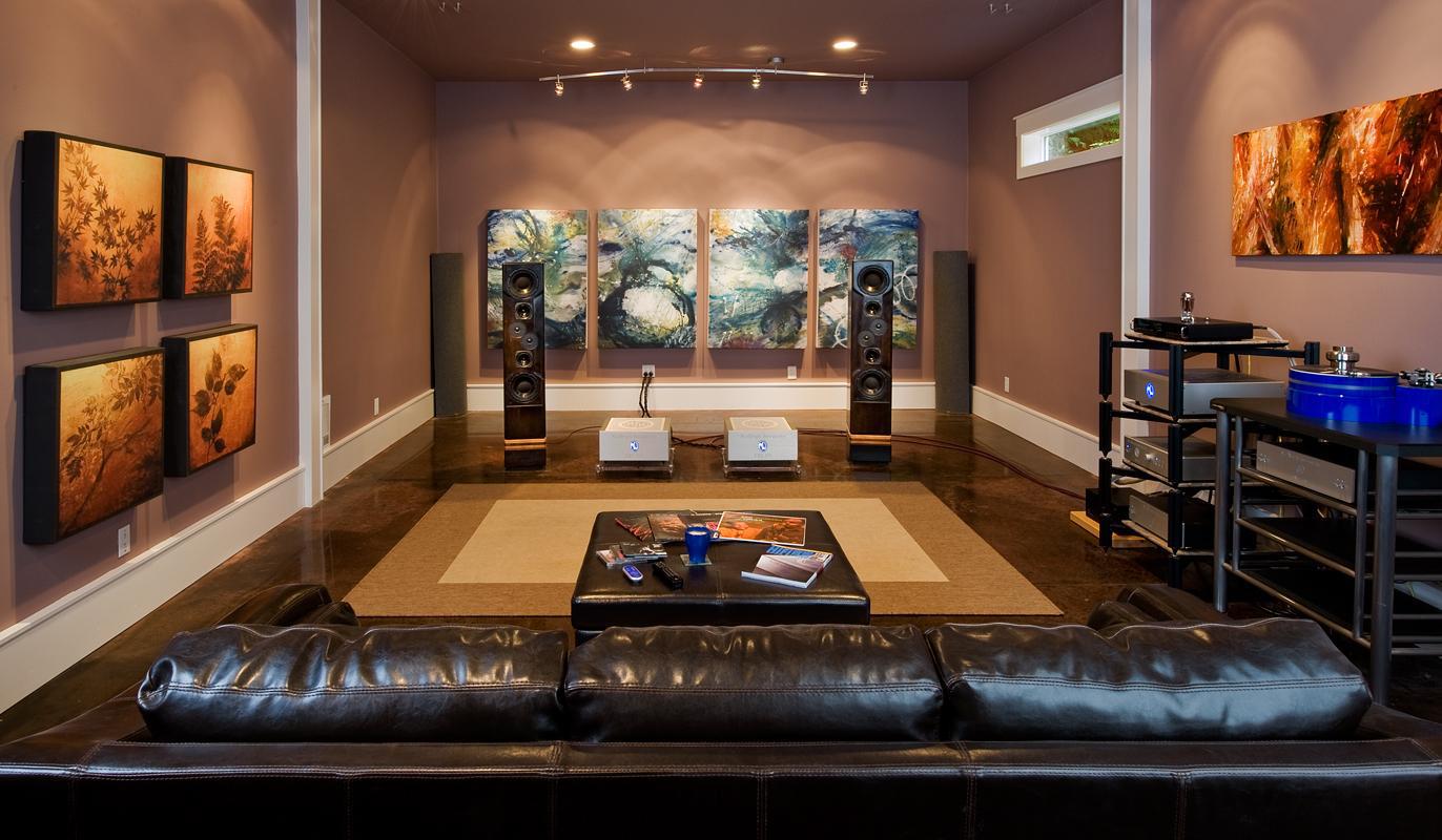 Как сделать комнату для прослушивания музыки